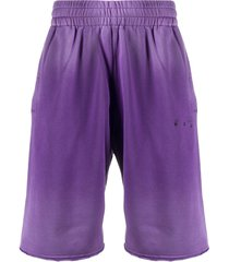 gradient sweat shorts