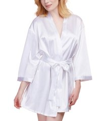 dreamgirl satin charmeuse bride wedding day robe