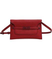 bolsa colcci envelope vermelha - kanui