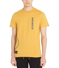 avirex men's wingstar logo t-shirt