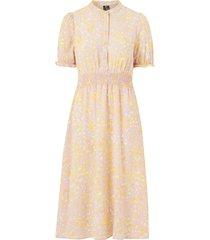 klänning vmsaga ss smock calf dress wvn