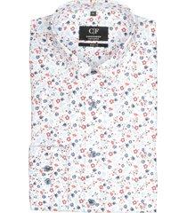 commander overhemd met print slim fit 213010585/406