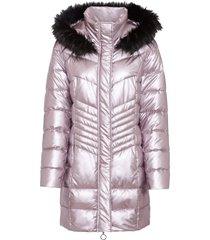 cappotto corto trapuntato con cappuccio (rosa) - bodyflirt