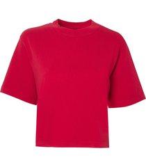 camiseta john john basic red malha algodão vermelho feminina (vermelho medio, gg)