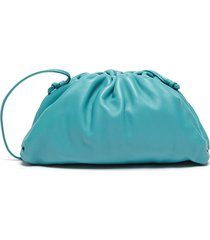 the pouch' leather clutch