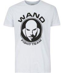 camiseta venum wand victory light - masculina - branco