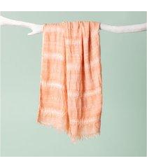 lenço byron cor: rosa - tamanho: único