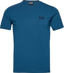 t-shirt t-shirts short-sleeved blå ea7