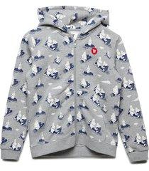 joe zip hoodie hoodie trui blauw wood wood