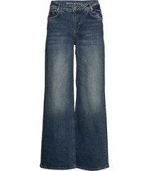dhbelfast high flared custom jeans utsvängda blå denim hunter