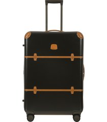 bric's bellagio 2.0 30-inch rolling spinner suitcase - green