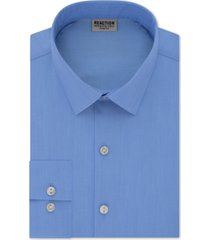 kenneth cole reaction men's slim-fit all day flex performance stretch solid dress shirt