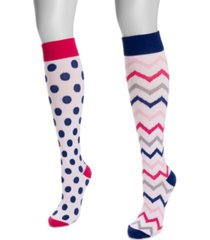 women's compression socks, pack of 2