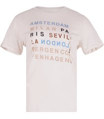 summum ecru t-shirt