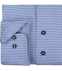 sleeve7 overhemd kobalt blauw pdp monti