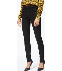 j brand maria high rise skinny jeans - seriously black - w31 - black