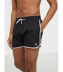 fila men satomi swim shorts badkläder black