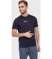 camiseta azul oscuro-blanco-rojo tommy jeans