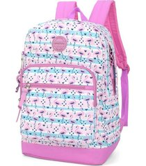 mochila up4you flamingo pink - kanui