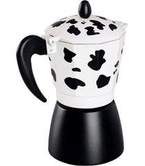 cafeteira italiana alumínio vaquinha 3 xícaras