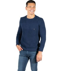 sweater azul  pato pampa base perle maipu