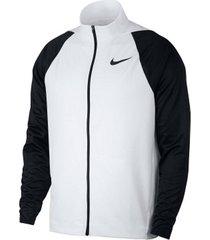 buzo con capucha de hombre m nk jkt epic knit nike blanco