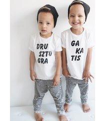 t-shirt dla bliźniaków zestaw
