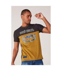camiseta ecko especial amarela