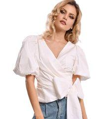 blusa primia julieta blanco