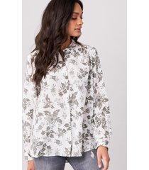 zijde blouse met bloemenprint