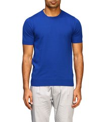 paolo pecora t-shirt paolo pecora short-sleeved basic cotton sweater
