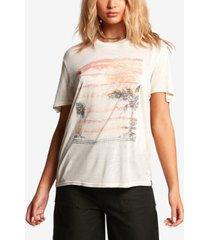 volcom juniors' tern n burn graphic-print t-shirt