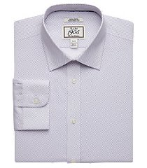 1905 collection tailored fit spread collar mini diamond dress shirt, by jos. a. bank