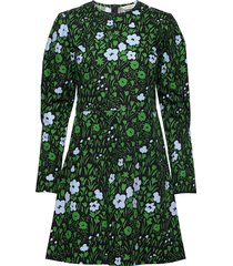 alku pikkulempi dress korte jurk groen marimekko