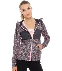chaqueta everlast planer rosa - calce ajustado