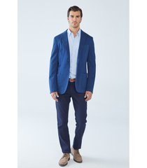 blazer boris becker nell cotton jacket with pocket