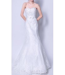 new wedding dress bridal gown lace a line mermaid trumpet size 2 4 6 8 10 12 14