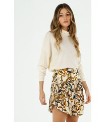 falda corto para mujer topmark, faldas plano  entero