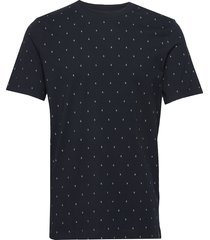 classic jersey crewneck tee t-shirts short-sleeved svart scotch & soda