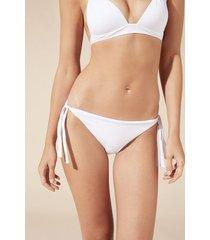 calzedonia indonesia tie bikini bottoms woman white size 2