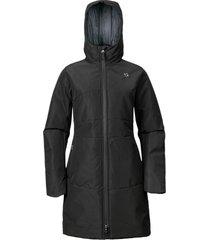 abrigo iris negro doite