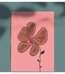plakat opalanie na kwiatku