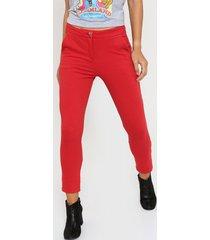 pantalón rojo asterisco jinjer