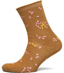 slfvida sock b lingerie socks regular socks brun selected femme