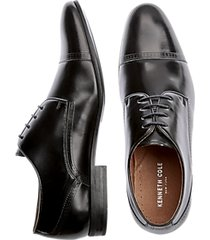 kenneth cole mix-ability black cap-toe lace ups