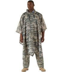 us army military marines usmc acu digital camo rain coat camping poncho shelter