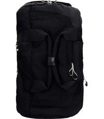 kenzo backpack in black synthetic fibers