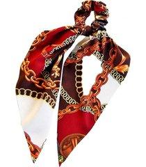 pañuelo colet cadenas rojo viva felicia