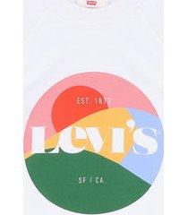 buzo blanco-multicolor levis