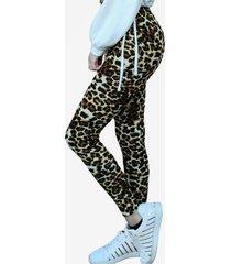 calza leggings leopardo cafe mlk